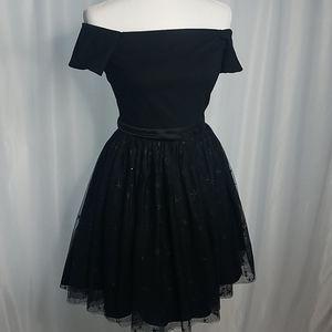 Black Harper Lemon HCO Cocktail Dress Size S / 4
